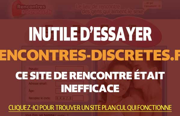 Rencontres-Discretes France